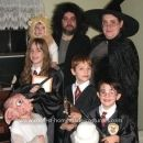 Harry Potter Family Costume... If I ever have children, this is what Halloween will look like!!!