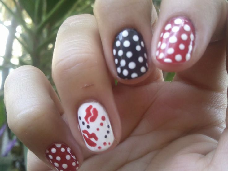 30 Semanas 30 Nail Art/ PIN-UP