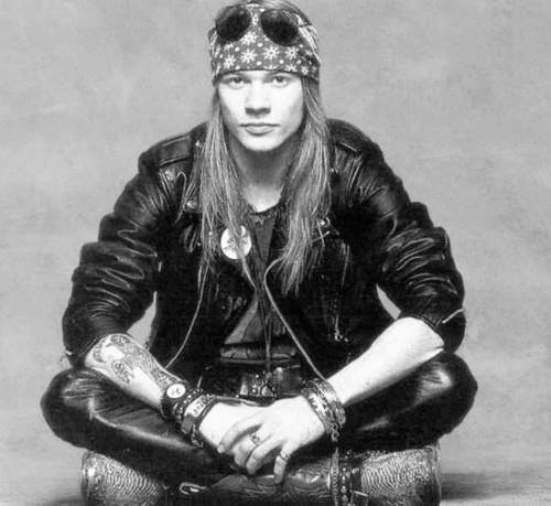 Axl rose. Sigh, if only boys today looked like this.