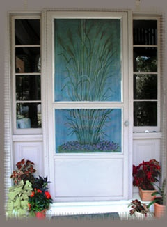 17 Best Ideas About Painted Screen Doors On Pinterest
