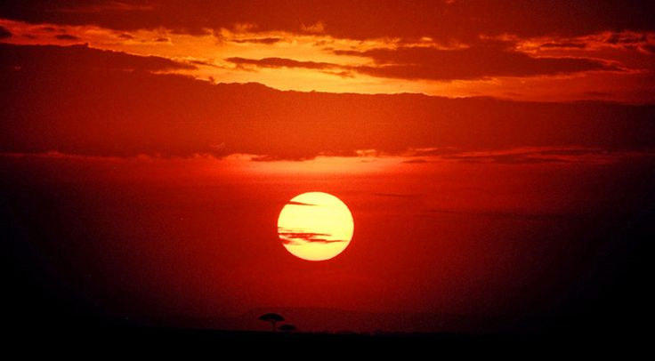 Our Fascination with Sunsets: A Collection Across Africa