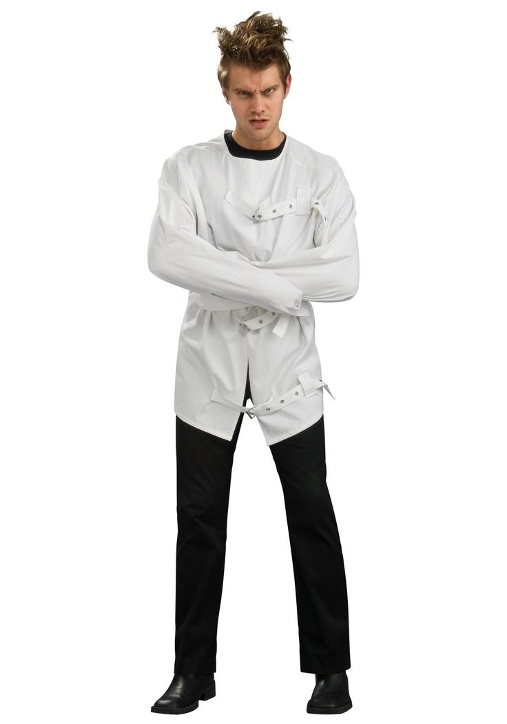 Jake wants me to make him a straitjacket [costume]