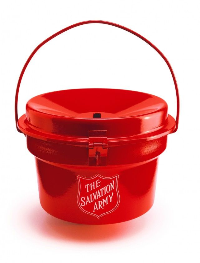 A beautiful, iconic object: The Salvation Army donation kettle.