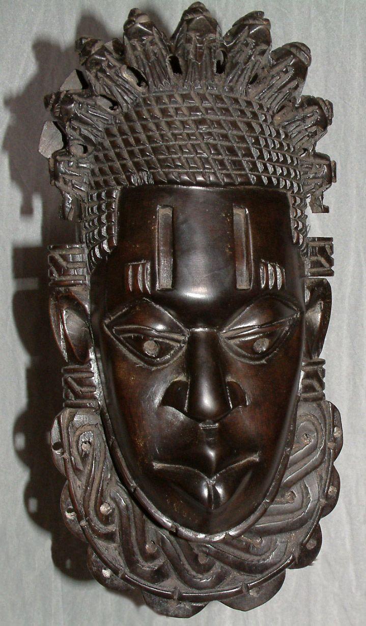 Black Ebony Wood Carved