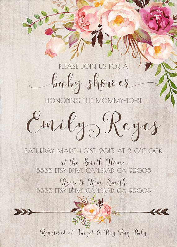 best baby shower invitations ideas on   baby party, invitation samples