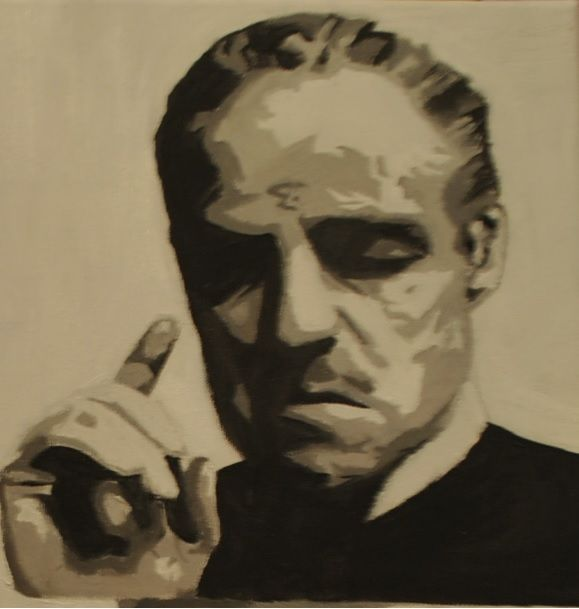Godfather  Oil on canvas 2012