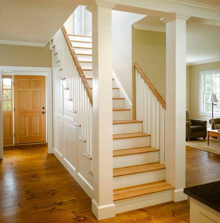 Best 25 Open Staircase Ideas On Pinterest: 25+ Best Ideas About Craftsman Staircase On Pinterest