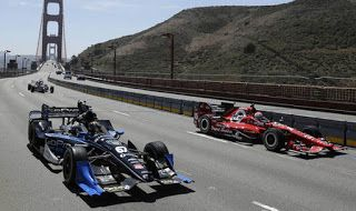 #Wilson's teammate #Marco_Andretti led a procession of cars over the famous US landmark to #Honour the 37-year-old, who died this week from injuries sustained in a freak #Accident last Sunday. #Drive_Dynamics