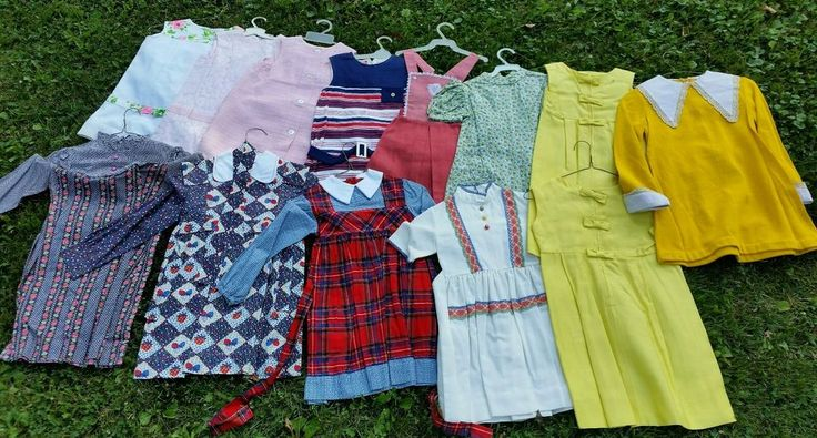 Lot of 13 Vintage Girls Teen Summer Dresses Mid Century Modern 1950s 1970s | eBay