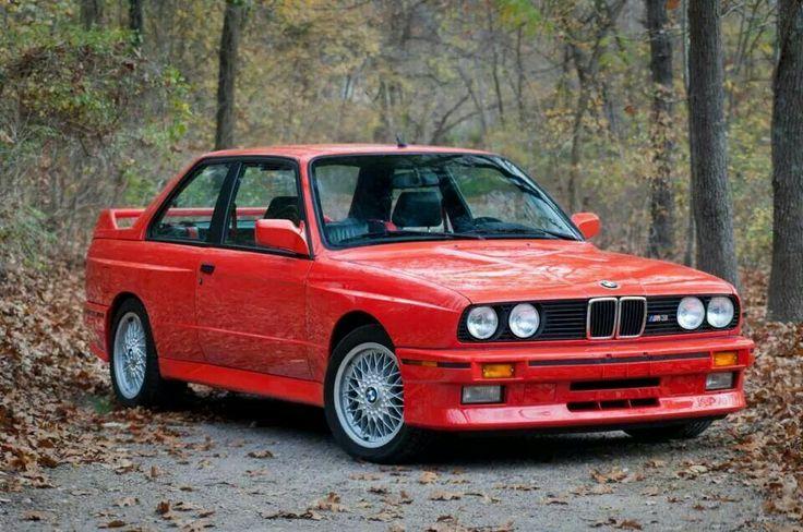 BMW E30 M3 red | BMW E30 | Pinterest