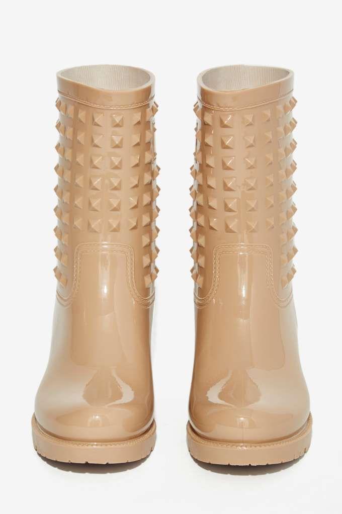Camden Studded Rain Boot - Shoes | Flats