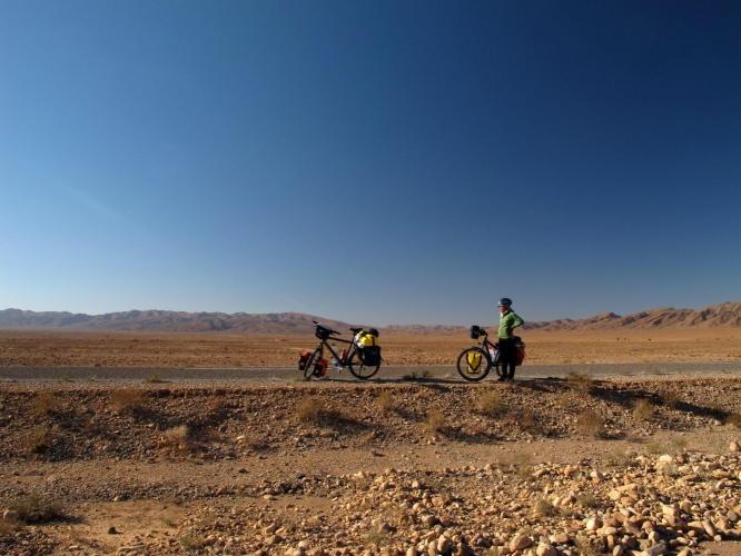 Me somewhere near Tagmoute, Morocco
