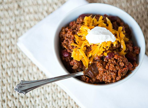 All-American Beef Chili--thinking about making this for the chili contest next year... my man and I both liked it a lot :0)