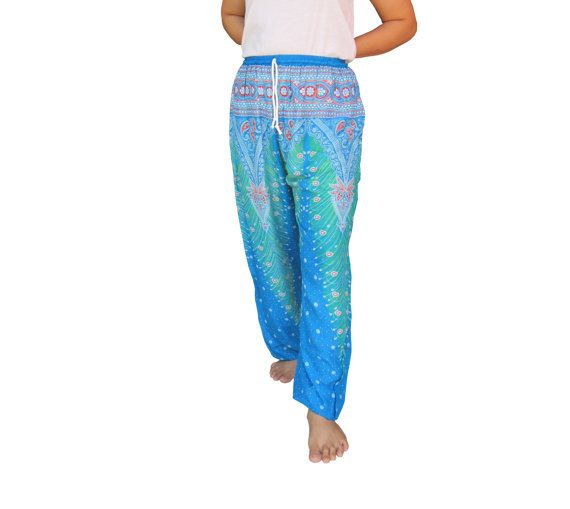 Harem Pants Hippie Pants Boho Pants Thai Pants by rockbox99 https://www.etsy.com/listing/244747028/harem-pants-hippie-pants-boho-pants-thai?ref=shop_home_active_12