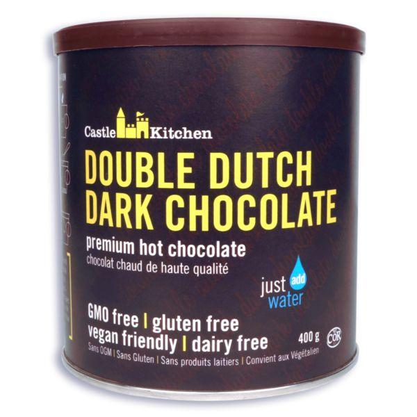 Castle Kitchen Vegan Double Dutch Dark Hot Chocolate Mix - 400g
