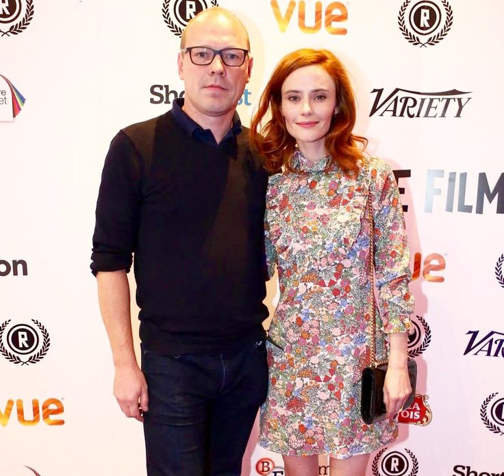 "Director Martin Stitt and Actress Rebecca Calder arrive at the 23rd Raindance Film Festival Premiere of the Best UK Nominated Feature ""Love Me Do"""