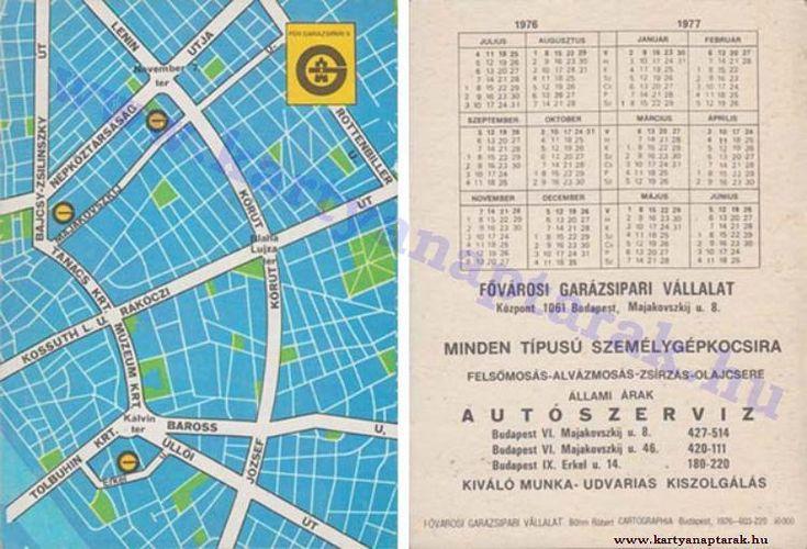 1976 - 1976_0828 - Régi magyar kártyanaptárak