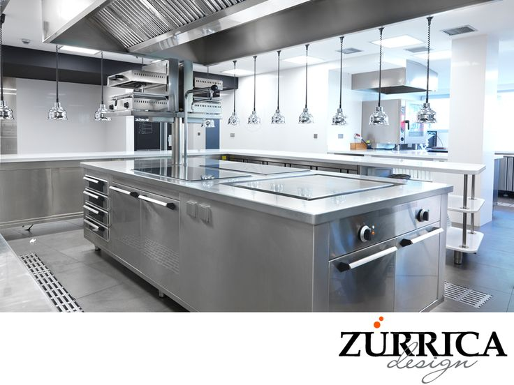 32 best cocinas industriales images on pinterest for Material cocina industrial