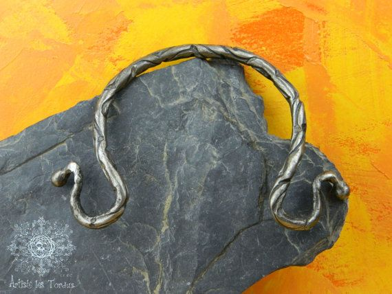 Torque wrought iron vicking style