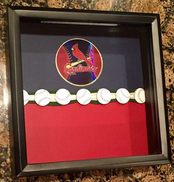 8x8 St. Louis Cardinals Ticket Stub Holder by ReminisceInStyle