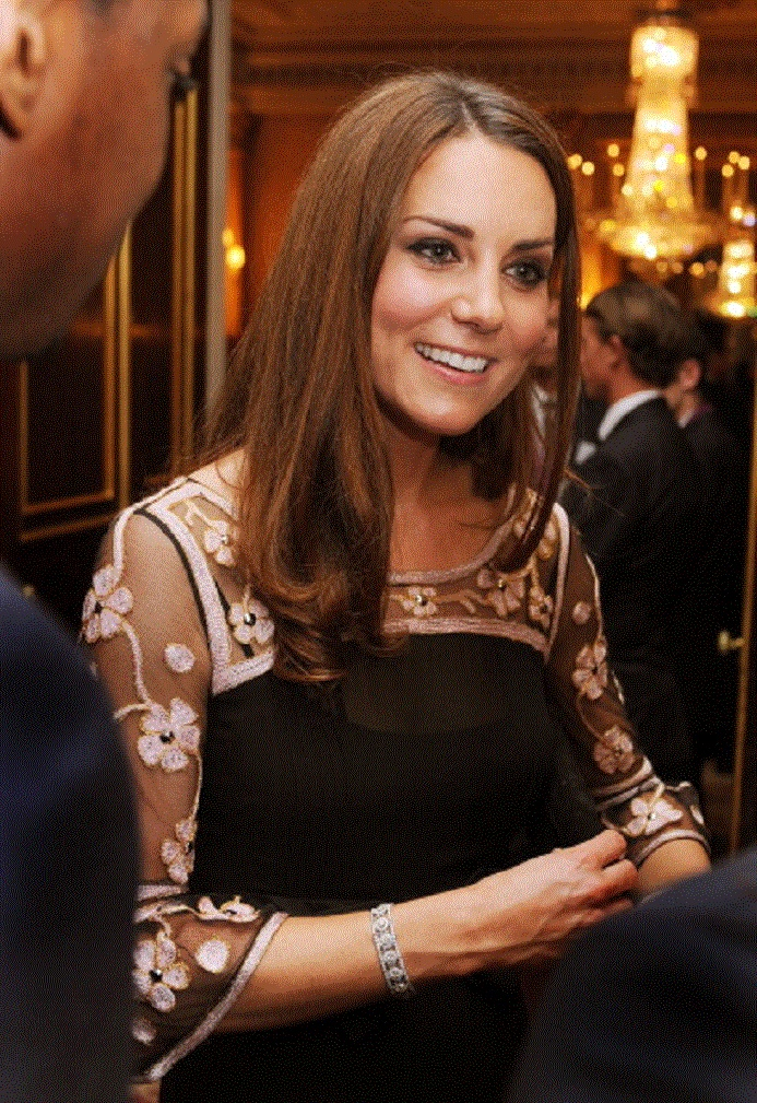 Oct 23 - Catherine, Duchess of Cambridge at the Royal Reception For Team GB Olympic Medalists