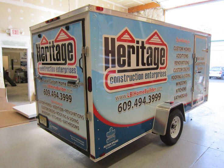 1000 Images About Lettrage Remorque Cargo Trailer Wrap