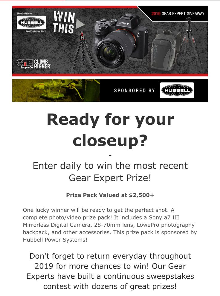 Contest Entry GME Supply Sweepstakes, Contest, Traffic