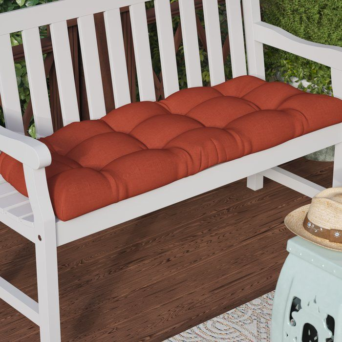 Indoor Outdoor Bench Cushion With Images Bench Cushions Outdoor Loveseat Cushion Outdoor Bench Seating