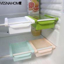 1 UNIDS Creativo Extraíble Cajón extraíble Portátil Organizador de Almacenamiento En Rack De Cocina Refrigerador JC76(China)