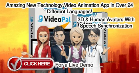 Create Fully Interactive 3D, 2D and Human Talking Video Avatars In