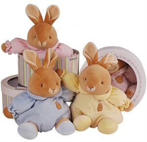Boxed Soft Toy Bunny | http://www.flyingflowers.co.nz/boxed-soft-toy-bunny