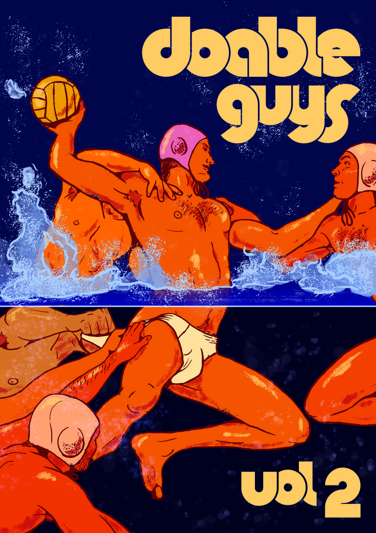 "Coming Soon! DOABLE GUYS is a gay art anthology zine focusing on each artist's interpretation of men they see as ""bang-worthy"""