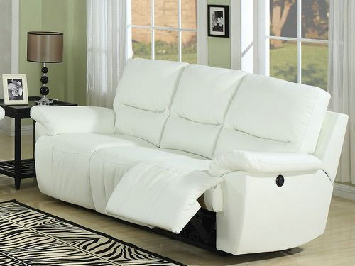 Nice White Leather Reclining Sofa Inspirational 31 In Modern