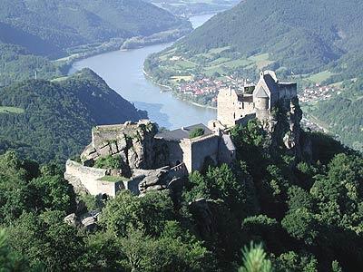 Wachau, Austria.  http://www.worldheritagesite.org/sites/wachau.html