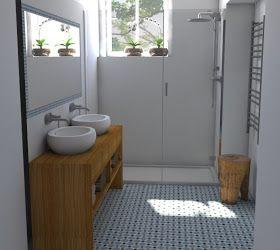SOŇA MALINOVÁ: Koupelny.