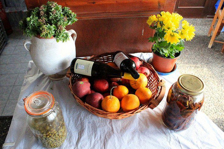 Sustainable: farm to table in Santorini Greece. #foodie #Azamara