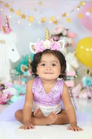 Lilac English Rose Mauve Baby First Birthday Tutu Romper  *Original Kryssi Koutu... 1