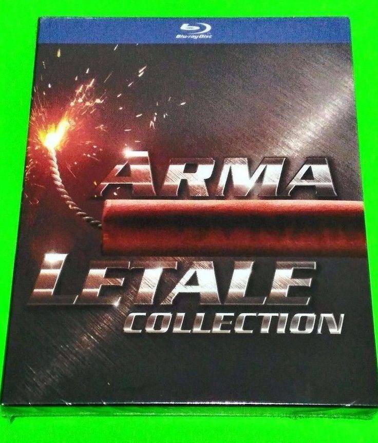 ARMA LETALE COLLECTION cofanetto blu ray serie completa