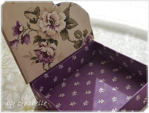 secret du couvercle de la boite à serviettes