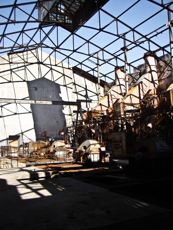 Theatrical Industrial Scenery. Nourishment for the soul.