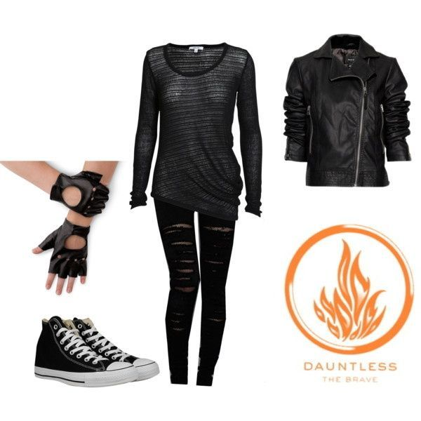 #Dauntless Outfit I wear for training/initiation