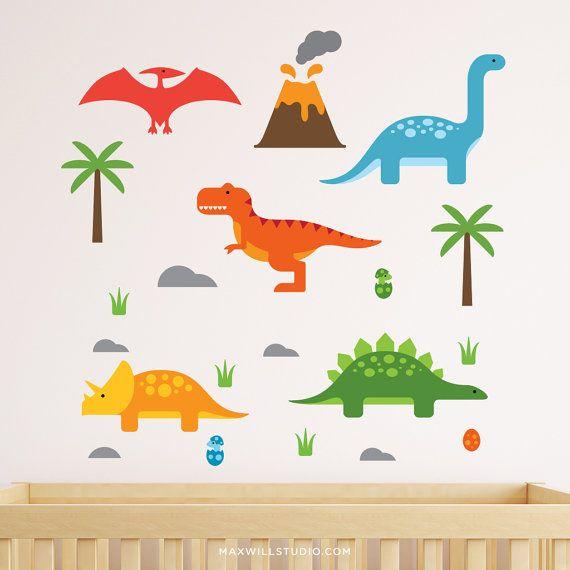 Dinosaur Wall Stickers Dinosaur Stickers Dinosaur Wall