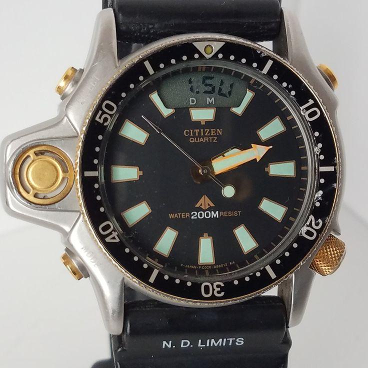 Excellent Citizen Aqualand Promaster Diver Watch C022