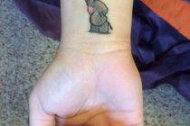 elephant tattoo designs wrist