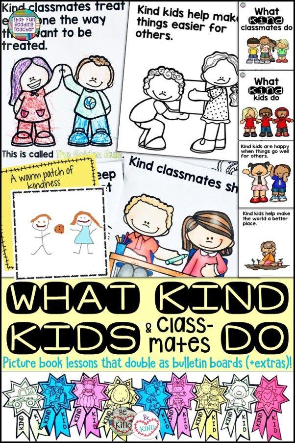 What kind kids and classmates do #kindness #education #kids #bulletinboard #classroommanagement #kindergarten