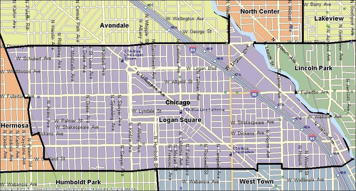 Logan Square clickable map