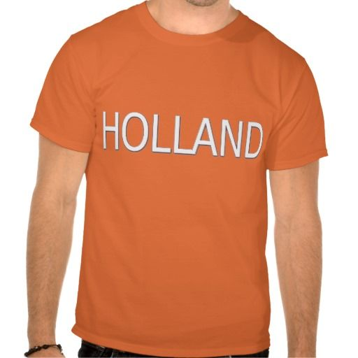 T-shirt Oranje met Holland en nummer 1. Beschikbaar in diverse maten, soorten shirts en kleuren voor zowel dames, heren en kinderen.
