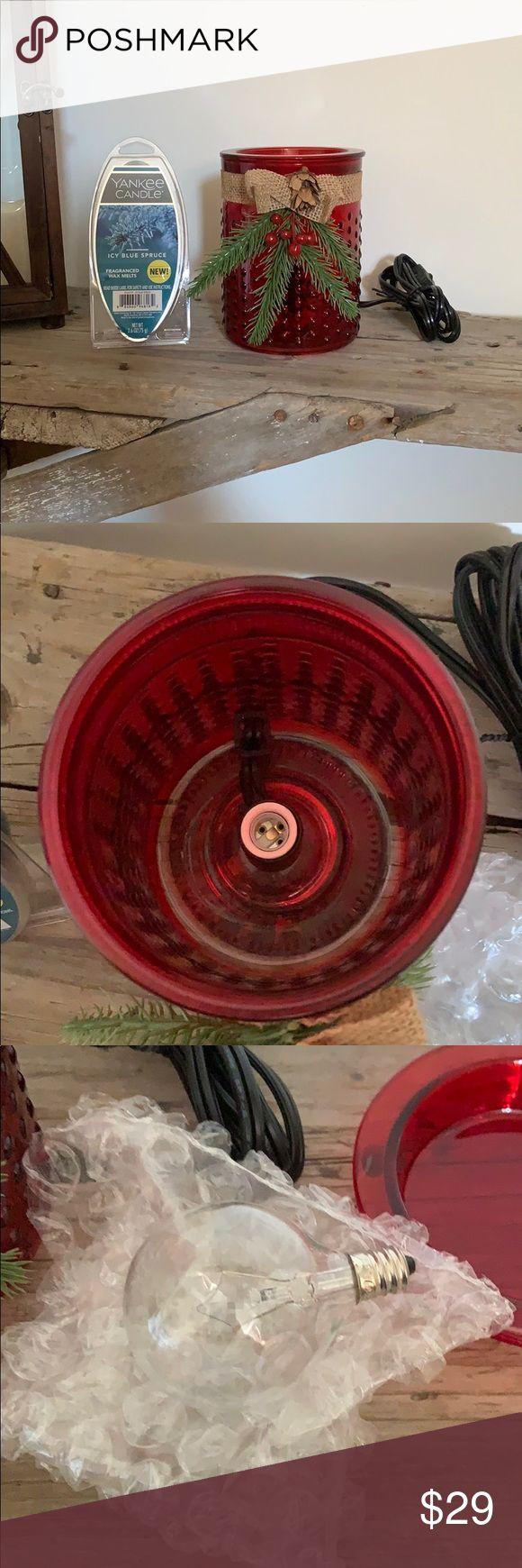 Wax Warmer with Yankee Candle Wax Melts Wax Warmer with ...