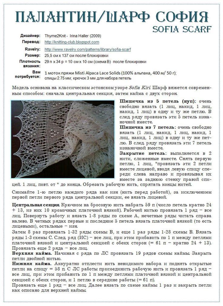 палантин спицами схема описание: 55 тыс изображений найдено в Яндекс.Картинках