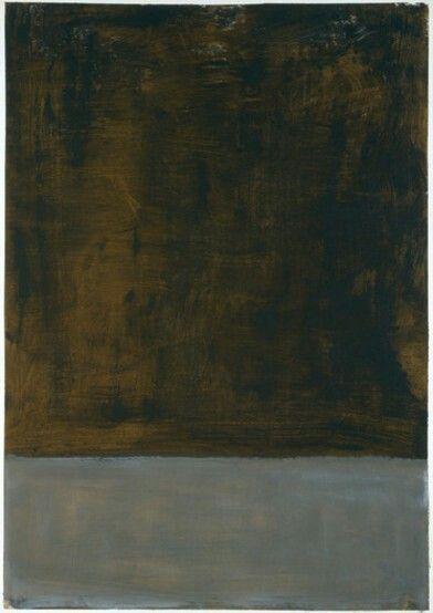 Mark Rothko,The dark paintings